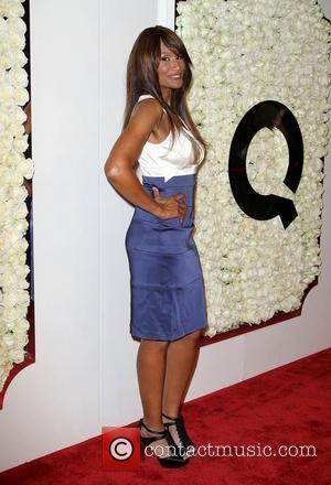 Beverly Johnson QVC presents The Buzz red carpet cocktail party held at The Four Seasons Hotel - Arrivals Los Angeles,...