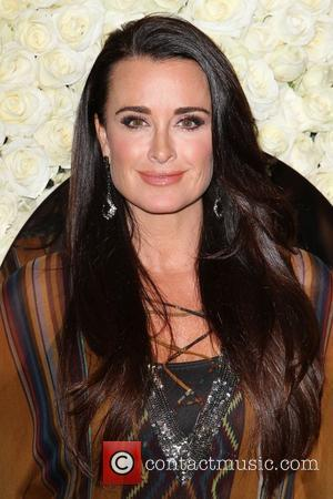 Kyle Richards QVC presents The Buzz red carpet cocktail party held at The Four Seasons Hotel - Arrivals Los Angeles,...