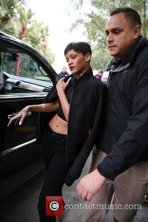 Rihanna and Staples Center