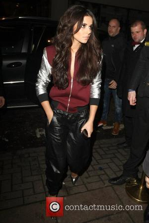 Cheryl Cole leaving the Rose Club London