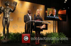 Taye Diggs; Busy Philipps 19th Annual Screen Actors Guild Awards Nominations Announcement held at the Pacific Design Center  Featuring:...