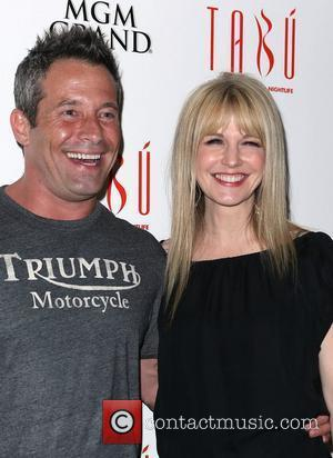 Johnny Messner and Kathryn Morris
