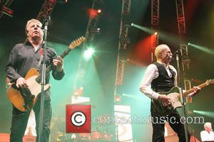 Rick Parfitt and Francis Rossi Status Quo performing live at 'Quofestive' at the O2 Arena  Featuring: Rick Parfitt and...
