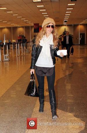 Jasmine Dustin  leaving Salt Lake City Airport after attending the Sundance Film Festival Salt Lake City, Utah - 22.01.12