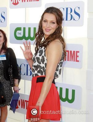 Katie Cassidy and Beverly Hilton Hotel