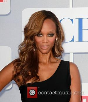 Tyra Banks and Beverly Hilton Hotel