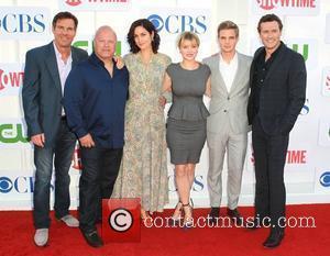 Dennis Quaid, Michael Chiklis, Carrie-Anne Moss, Sunny Mabrey, Jason O'Mara CBS Showtime's CW Summer 2012 Press Tour at the Beverly...