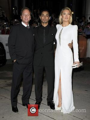 Kiefer Sutherland, Riz Ahmed and Kate Hudson 'The Reluctant Fundamentalist' premiere arrivals at Roy Thomson Hall during the 2012 Toronto...