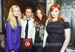 Elle Fanning, Alessandro Nivola and Christina Hendricks