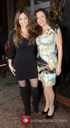 Beth Shak; Nikki Donze Team Vick Foundation Charity Cocktail Party at Tashan restaurant  Featuring: Beth Shak, Nikki Donze Where:...