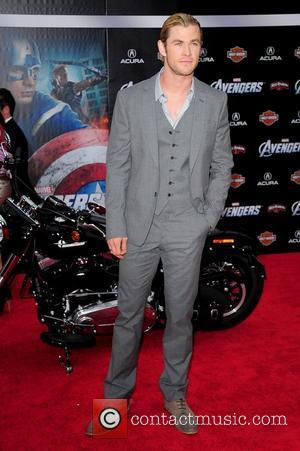 Chris Hemsworth World Premiere of The Avengers at the El Capitan Theatre - Arrivals Hollywood, California - 11.04.12