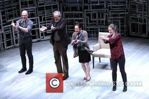 John Schiappa, Daniel Stern, Laurie Metcalf and Zoe Perry