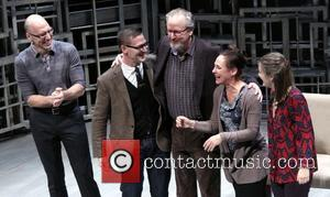 John Schiappa, Sharr White, Daniel Stern, Laurie Metcalf and Zoe Perry