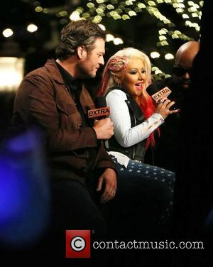 Blake Shelton and Christina Aguilera  Judges Of NBC's