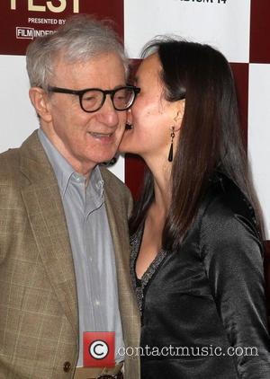Woody Allen, Soon-Yi Previn  To Rome With Love LA Film Festival Premiere  Held at Regal LA. Live Theatres...