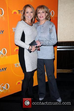 Katie Couric and Barbara Walters  the 'TODAY' Show 60th anniversary celebration at The Edison Ballroom New York City, USA...