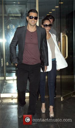 Jess Metcalfe, Cara Santana Leaving the Today Show after talking about their new TNT TV series Dallas New York City,...