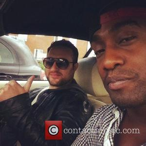 """Simon Webbe posted this picture to his Twitter with the caption """"Cool as ice @antonyCosta"""" USA - 18.06.12 Supplied by..."""