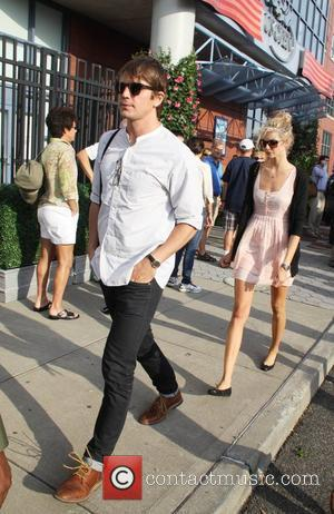 Josh Hartnett and Sophia Lie  Celebrities at the 2012 US Open in Flushing New York, USA - 08.09.12