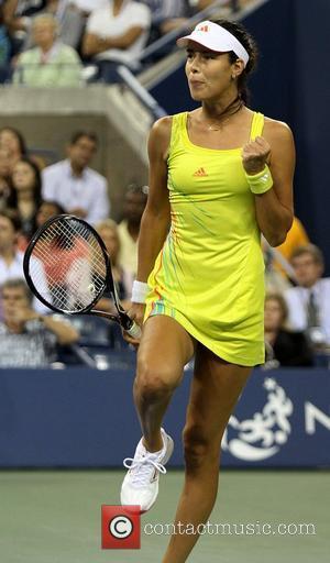 Ana Ivanovic US Open 2012 Womens Match - Sloane Stephens v Ana Ivanovic - USTA Billie Jean King National Tennis...