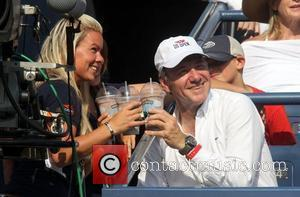Kevin Spacey US Open 2012 Men's Match - Celebrity Sighting - USTA Billie Jean King National Tennis Center New York...