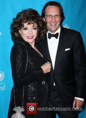 Joan Collins and husband Percy Gibson The 2011 Unicef Ball at the Beverly Wilshire Four Seasons Hotel Beverly Hills, California...