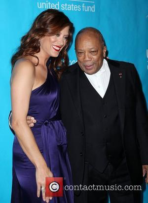 Kate Walsh and Quincy Jones