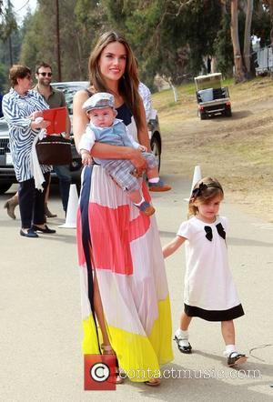 Alessandra Ambrosio, Noah and Daughter Anja