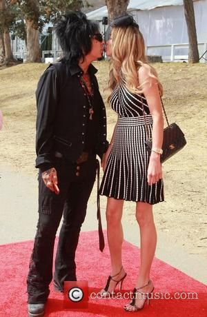 Nikki Sixx, girlfriend, Courtney Bingham  Third Annual Veuve Clicquot Polo Classic - Outside arrivals at  Will Rogers State...
