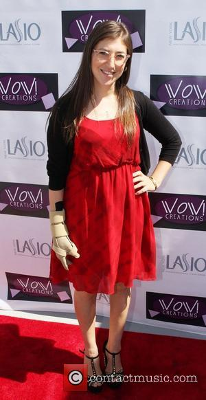 Mayim Bialik  WOW Emmy Gifting Suite - arrivals  at the Luxe Hotel Beverly Hills, California - 19.09.12