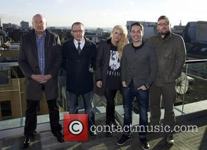 Martin Compston, Stephen Mccole, Laura Mcmonagle, Ray Burdis and Paul Ferris