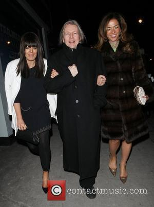 Claudia Winkleman, Christopher Hampton and Bafta