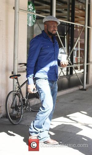 Wyclef Jean leaving a Starbucks in Soho, Manhattan New York City, USA - 02.04.12