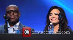 L, A. Reid, Demi Lovato and X Factor