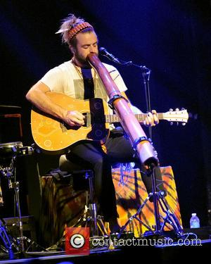 Xavier Rudd performing live in concert at the Phoenix Concert Theatre.  Featuring: Xavier Rudd