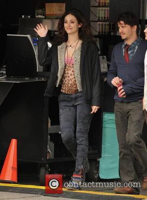 Emmy Rossum and Jason Ritter