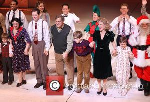 The, A Christmas Story, The Musical, Lunt-fontanne, Theatre and Curtain