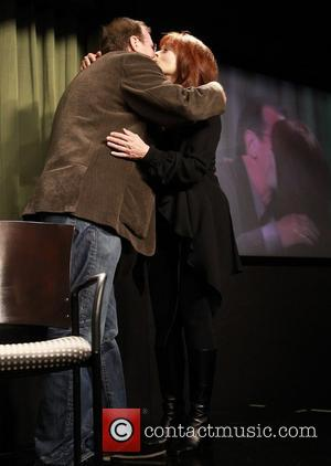 Pete Hammond and Frances Fisher