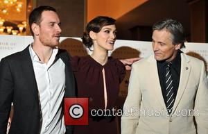 Keira Knightley, Michael Fassbender and Viggo Mortensen