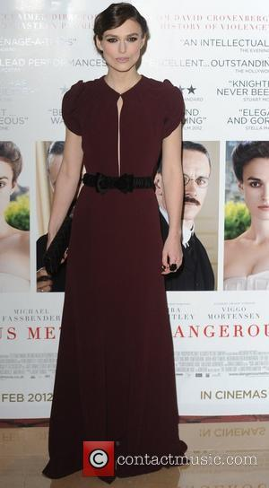 Keira Knightley The gala premiere of A Dangerous Method at the Mayfair Hotel London, England - 31.01.12
