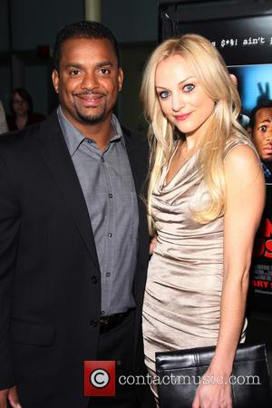 Alfonso Ribeiro; Angela Unkrich A Haunted House Premiere held at ArcLight Hollywood  Featuring: Alfonso Ribeiro, Angela Unkrich Where: Hollywood,...