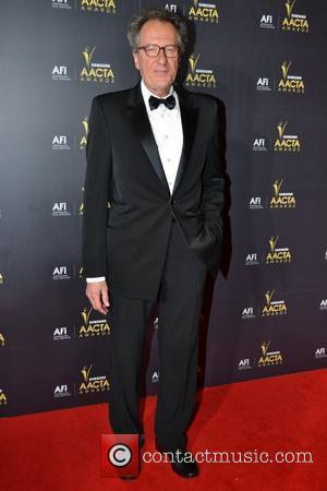 Geoffrey Rush Returns Home For Australian Of The Year Event
