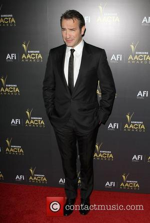 Jean Dujardin 2012 Australian Academy of Cinema and Television Arts Awards held at Soho House - Arrivals Los Angeles, California...