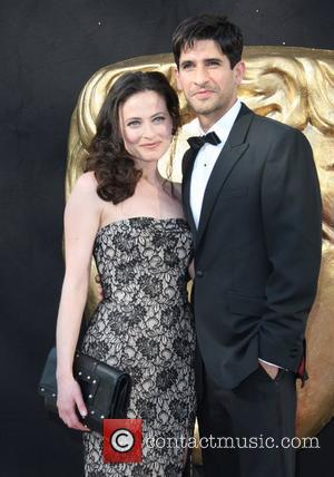 Lara Pulver and Raza Jaffrey The 2012 Arqiva British Academy Television Awards (BAFTAs), held at the Royal Festival Hall -...