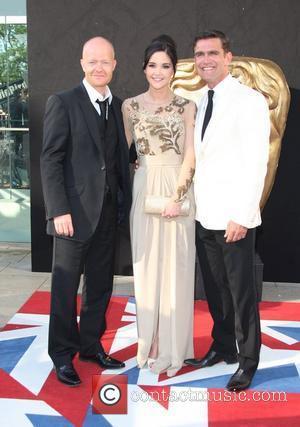 Jake Wood, Jacqueline Jossa and Scott Maslen The 2012 Arqiva British Academy Television Awards (BAFTAs), held at the Royal Festival...