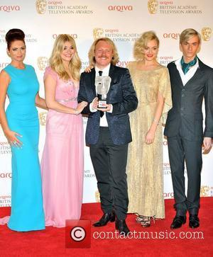 Amy Childs, Fearne Cotton, Holly Willoughby and Leigh Francis