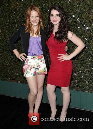 Katie Leclerc and Vanessa Marano ABC Family West Coast Upfronts party at The Sayers Club Hollywood, California - 01.05.12