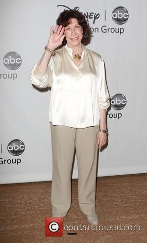 Lily Tomlin and Beverly Hilton Hotel
