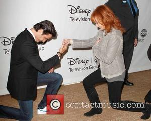 Gilles Marini, Reba Mcentire and Beverly Hilton Hotel