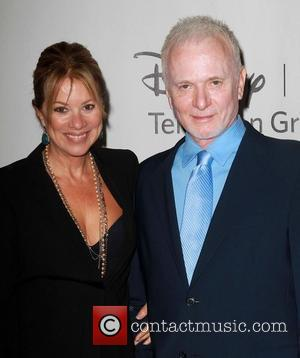 Nancy Lee Grahn and Anthony Geary